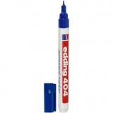 Edding 404 Marker, Blau, Strichstärke 0,75 mm, 1 Stck.