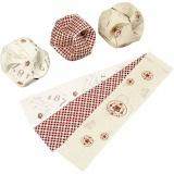 Click Ornaments, D: 5 cm, Größe 3,5x8,8 cm, 9 Set/ 1 Pck.