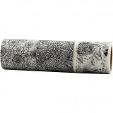 Washi Tape, B: 50 mm, 3x5 m/ 1 Pck