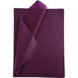 Seidenpapier, Bordeaux, 50x70 cm, 14 g, 25 Bl./ 1 Pck.