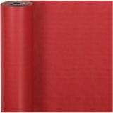 Geschenkpapier , Rot, B: 50 cm, 60 g, 100 m/ 1 Rolle