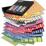Color Bar-Papier, Sortierte Farben, A4, 210x297 mm, 100 g, 16x10 Bl./ 1 Pck
