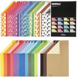 Color Bar-Karton, Sortierte Farben, A4, 210x297 mm, 250 g, 32x10 Bl./ 1 Pck.