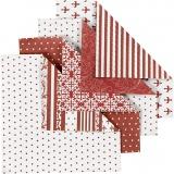 Origami-Papier, Größe 10x10 cm, 80 g, 50 Bl. sort./ 1 Pck.