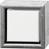 ArtistLine Künstlerleinwand mit Rahmen, Weiß, Größe 14x14 cm, 360 g, 6 Stck./ 1 Pck.