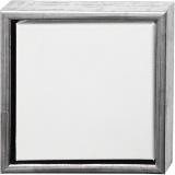 ArtistLine Künstlerleinwand mit Rahmen, Weiß, Größe 24x24 cm, 6 Stck./ 1 Pck.
