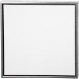 ArtistLine Künstlerleinwand mit Rahmen, Antiksilber, Weiß, Größe 54x54 cm, 360 g, 1 Stck.