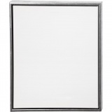 ArtistLine Künstlerleinwand mit Rahmen, Antiksilber, Weiß, Größe 54x64 cm, 360 g, 1 Stck.
