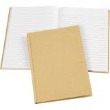 Notizbuch , Braun, A5, 60 g, 1 Stck.
