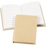 Notizbuch , Braun, A7, 60 g, 1 Stck.