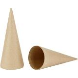 Kegel, H: 20 cm, D: 8 cm, 5 Stck./ 1 Pck.