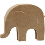Elefant, H: 21 cm, L: 24 cm, 1 Stck.