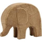 Elefant, H: 14 cm, L: 17 cm, 1 Stck.