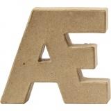 Buchstabe, AE, H: 10 cm, dicke 2 cm, 1 Stck.