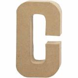 Buchstabe, C, H: 20,5 cm, B: 11,5 cm, dicke 2,5 cm, 1 Stck.