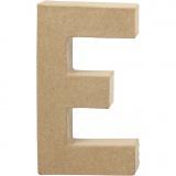 Buchstabe, E, H: 20,5 cm, B: 11,5 cm, dicke 2,5 cm, 1 Stck.