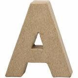 Buchstabe, A, H: 10 cm, B: 9,5 cm, dicke 1,7 cm, 1 Stck.