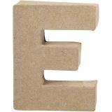 Buchstabe, E, H: 10 cm, B: 7,5 cm, dicke 1,7 cm, 1 Stck.