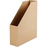 Zeitschriftenhalter, B: 7,5 cm, Größe 31,5x25,5 cm, 1 Stck.