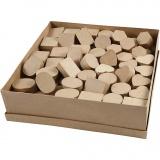 Mini Schachteln, H: 3 cm, D: 4-6 cm, 6x24 Stck./ 1 Pck.