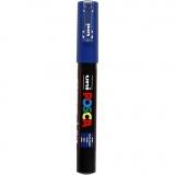 Posca Marker , Blau, Nr. PC-1M, Strichstärke 0,7 mm, 1 Stck.
