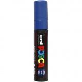 Posca Marker , Blau, Nr. PC-17K, Strichstärke 15 mm, 1 Stck.