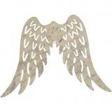 Flügel, H: 6 cm, B: 7,5 cm, 30 Stk/ 1 Pck