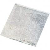 Bastelfolie, Silber, 10x10 cm, 30 Bl./ 1 Pck.