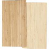 Bambus-Furnierplatten, 12x22 cm, Dicke 0,75 mm, 2 Bl./ 1 Pck