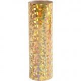 Dekofolie, Gold, B: 15,5 cm, dicke 0,02 mm, 50 cm/ 1 Rolle
