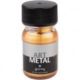 Art Metal Farbe, Mittelgold, 30 ml/ 1 Fl.