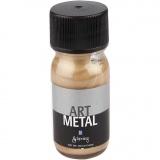 Art Metal Farbe, Dunkelgold, 30 ml/ 1 Fl.