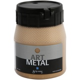 Art Metal Farbe, Mittelgold, 250 ml/ 1 Fl.