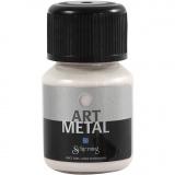 Art Metal Farbe, Perlmutt, 30 ml/ 1 Fl.