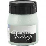 Art Metal Farbe, Perlmutt-Grün, 250 ml/ 1 Fl.
