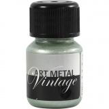 Art Metal Farbe, Perlmutt-Grün, 30 ml/ 1 Fl.