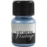 Art Metal Farbe, Perlmutt-Blau, 30 ml/ 1 Fl.