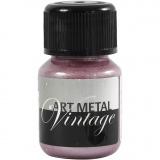 Art Metal Farbe, Perlmutt-Rosa, 30 ml/ 1 Fl.