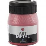 Art Metal Farbe, Lava-Rot, 250 ml/ 1 Fl.