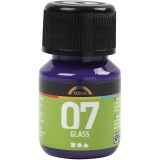 A-Color Glas-/Porzellanfarbe, Rotviolett, 30 ml/ 1 Fl.