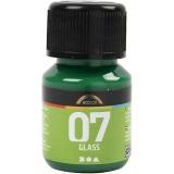 A-Color Glas-/Porzellanfarbe, Brillantgrün, 30 ml/ 1 Fl.