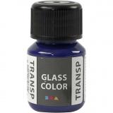 Glass Color Transparent, Brillantblau, 30 ml/ 1 Fl.