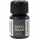 Glass Color Transparent, Marineblau, 30 ml/ 1 Fl.