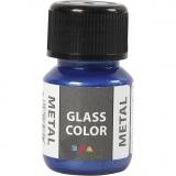 Glass Color Metal, Blau, 30 ml/ 1 Fl.