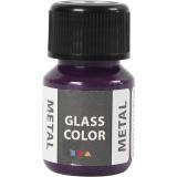 Glass Color Metal, Flieder, 30 ml/ 1 Fl.