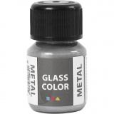 Glass Color Metal, Silber, 30 ml/ 1 Fl.