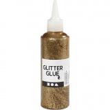 Glitzerkleber, Gold, 118 ml/ 1 Fl.