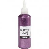 Glitzerkleber, Flieder, 118 ml/ 1 Fl.