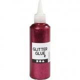 Glitzerkleber, Pink, 118 ml/ 1 Fl.