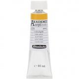Schmincke AKADEMIE® Acrylfarbe, Indischgelb (226), Transparent, 60 ml/ 1 Fl.